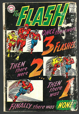 The Flash 1967 comic book, issue number 173, fair condition, reading copy