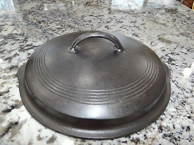 Wagner Ware 1081 #8 Cast Iron Skillet Pan Lid Only Sidney O Vtg Antique NICE!!