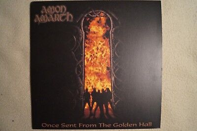 Amon Amarth - Once Sent From The Golden Hall - Black Vinyl + Poster