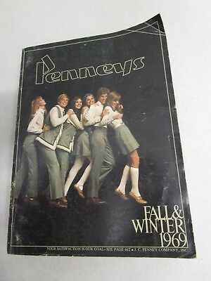 Vintage PENNEYS Fall and Winter Catalog 1969.