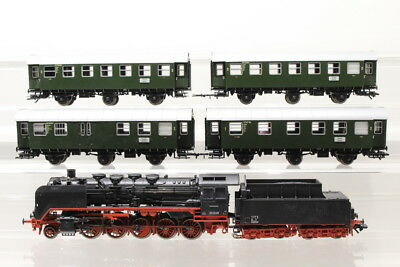 H0 Märklin aus 29500 DB Personenzug-Set 50 1049 Dampflok Sound digital /G2