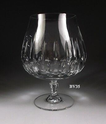 """Mikasa Crystal Interlude Brandy Glass  5 5/8""""  Snifter - Excellent"""
