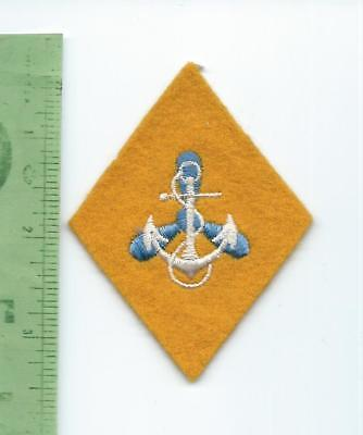 USN US Navy Wave  patch  Recruit Insignia Post WWII