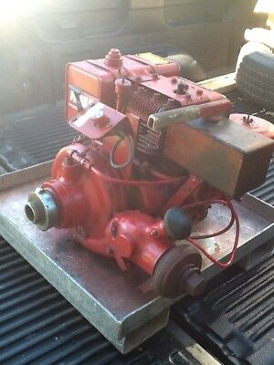 Hale Model 25Fb-B25 Portable Fire Pump