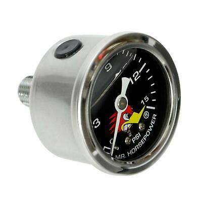 Clay Smith Cams 318-2115 Mr. Horsepower Fuel Pressure Gauge, Blk