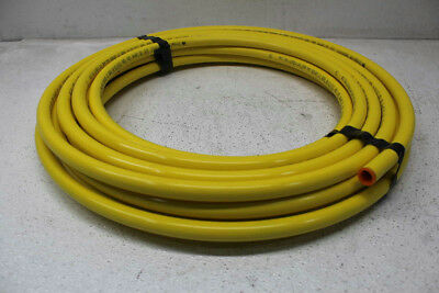Mueller Industries DY10050 Plastic Coated Yellow Coil 5/8in O.D. 50ft