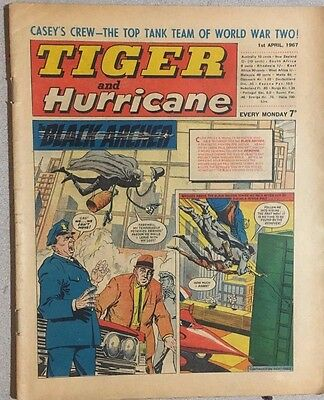 TIGER  and HURRICANE weekly British comic book April 1, 1967