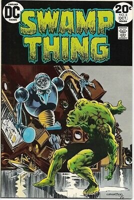 Swamp Thing Comic Book #6 DC Comics 1973 VERY FINE+