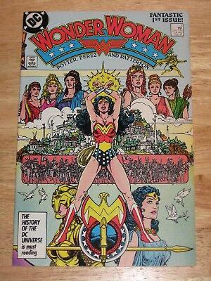 Wonder Woman 1 1987 by George Perez   Unread Unhandled High Grade  DC Comics