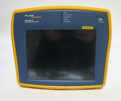 Fluke Networks Etherscope Network Assistant w/ Lots of Accys.
