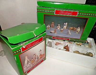 2 House of Lloyd Christmas Around the World Native American Additions & Nativity