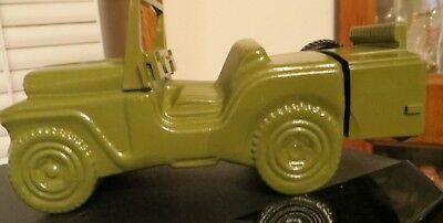 Avon Military Jeep - Vintage Decanter - Army Jeep Wild Country After Shave empty