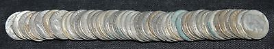 Roll of 50 Roosevelt Dimes Assorted Dates Circulated 90% Silver