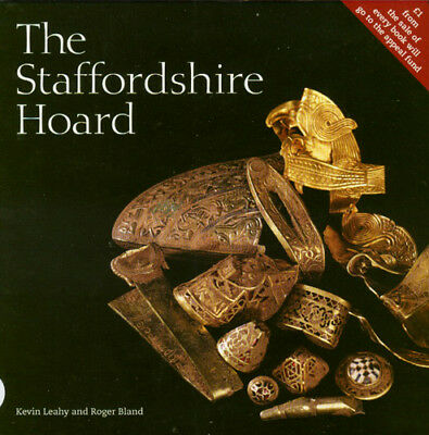 Anglo-Saxon Treasure Staffordshire Hoard Sword Scabbards Crosses Jewelry Helmets