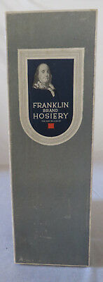 Vintage General Store Franklin Brand Hosiery Box - Men's Fancy Half Hose