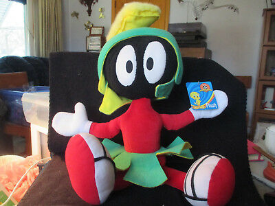 Looney Tunes Marvin the Martian stuffed plush New with Tags