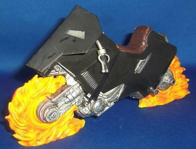 "Toy Biz Marvel Legends 7"" Ghost Rider Motorcycle Accessory Figure Part Only S7"