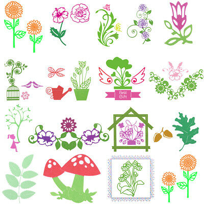 Spring Metal Cutting Dies DIY Stencil Scrapbook Album Paper Card Embossing Craft