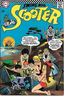 Swing With Scooter Comic Book #5 DC Comics 1967 VERY FINE/NEAR MINT
