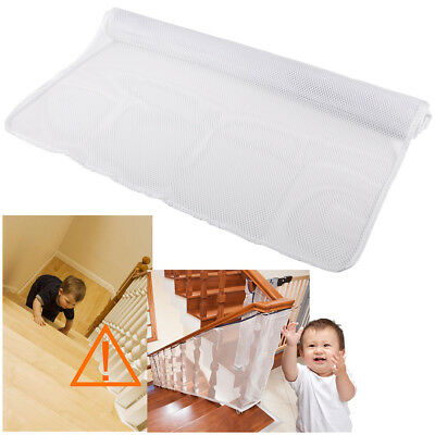 Children Safety Rail Balcony Stairs Net Banister Balcony Patios Protector