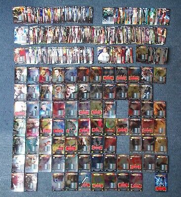 Dr Doctor Who Battles in Time 549 Different Cards - all listed - great condition