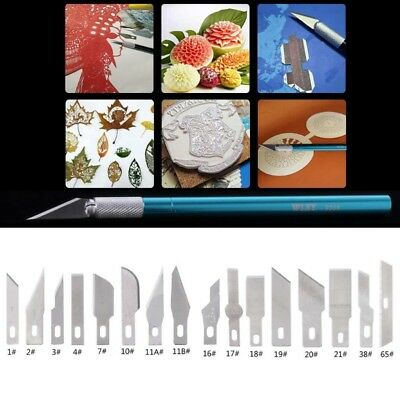 5Pcs Surgical Scalpel Phone Repair Multifunction Paper Cutting Spare Knife Blade