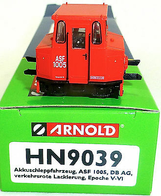 Battery Towing Vehicle 1005 DB AG EP V-VI Red Arnold hn9039 TT 1:120 OVP HL2 Å