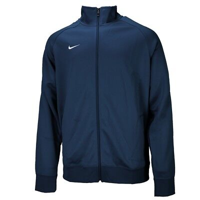 Nike Team Club Trainer Jacket Herren Jacke Full Zip Hoody obsidian 658683-451