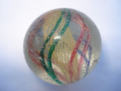 C1890S Vintage Large Hand Blown Marble