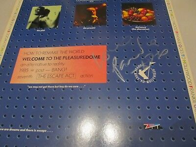 """12"""" Frankie goes to Hollywood -  W.t.t.Pleasuredome (autogr. by Paul R.)"""