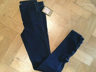 NWT Juicy Couture New & Gen. Girls Age 10 Blue Denim Leggings With Juicy Logo