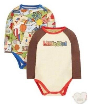 NEW MOTHERCARE Little Bird By Jools Oliver 12-18 Months Bodysuits 2 Piece BNWT