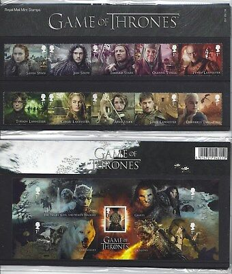 Great Britain 2018 Game Of Thrones Presentation Pack