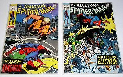 Amazing Spider-Man #81 And #82  Two Silver Age Marvels
