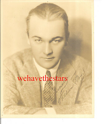 Vintage William Boyd HANDSOME EARLY 30s DBW Publicity Portrait