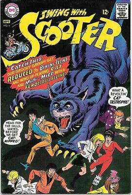 Swing With Scooter Comic Book #8 DC Comics 1967 VERY FINE+