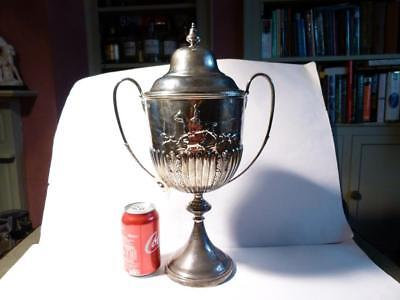 "1903 NORK PARK Surrey Silver Trophy Cup FOX Hunting "" Colman's Mustard "" Family"