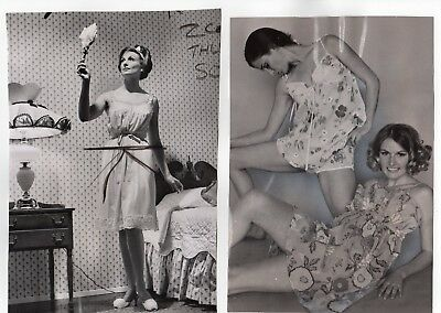 1960's Fashion Original Press Photos, Nighties, Robes 8 Different See All Images