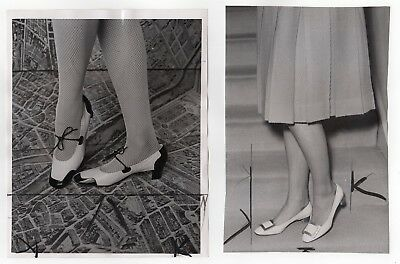 1960's Fashion Original Press Photos, Shoes, Jewelry 4 Different, See All Images