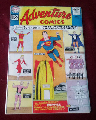 ADVENTURE COMICS #300 Fine Tales of the Legion of Super-Heroes begins, DC 1962