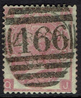 Great Britain, Used, 44, Plate 4, Great Cancel
