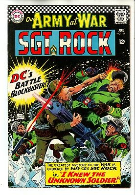 DC OUR ARMY AT WAR #168 IN FN+ CONDITION - 1st APPEARANCE UNKNOWN SOLDIER