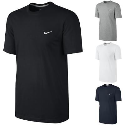 Nike Embroidered Swoosh T-Shirt Classic Basic Sport Fitness Freizeit Shirt Top