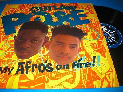 Outlaw Posse.my Afro's On Fire!.12'' Vinyl Lp