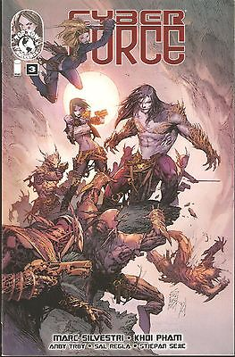CYBER FORCE, Vol 4 #3 from  IMAGE COMICS - RECOMMENDED FOR MATURE READERS [N1]