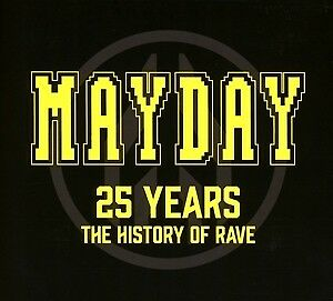 Mayday-25 Years-The History Of Rave - VARIOUS [3x CD]