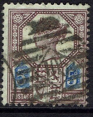 Great Britain, Used, 118A, Type I, Lilac & Black, Great Centering
