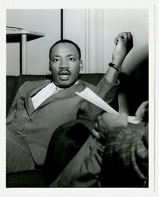 1960's Martin Luther King Jr. Passion & Intensity 8 x 10 Type I Original Photo