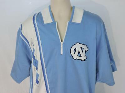 NORTH CAROLINA NIKE TEAM Basketball Warm-Up SS-Sz XL-EUC