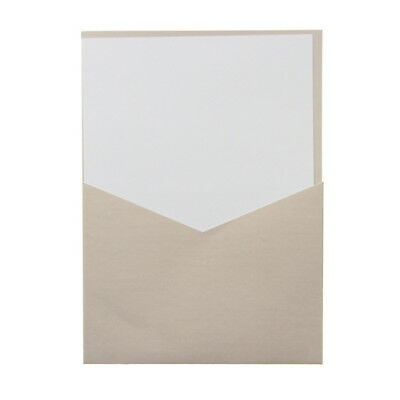 American Crafts Ms. Sparkle & Co. Paperie Pocket Card and Envelope Set - Station